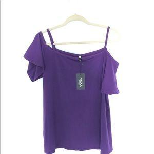 Purple Tshirt top